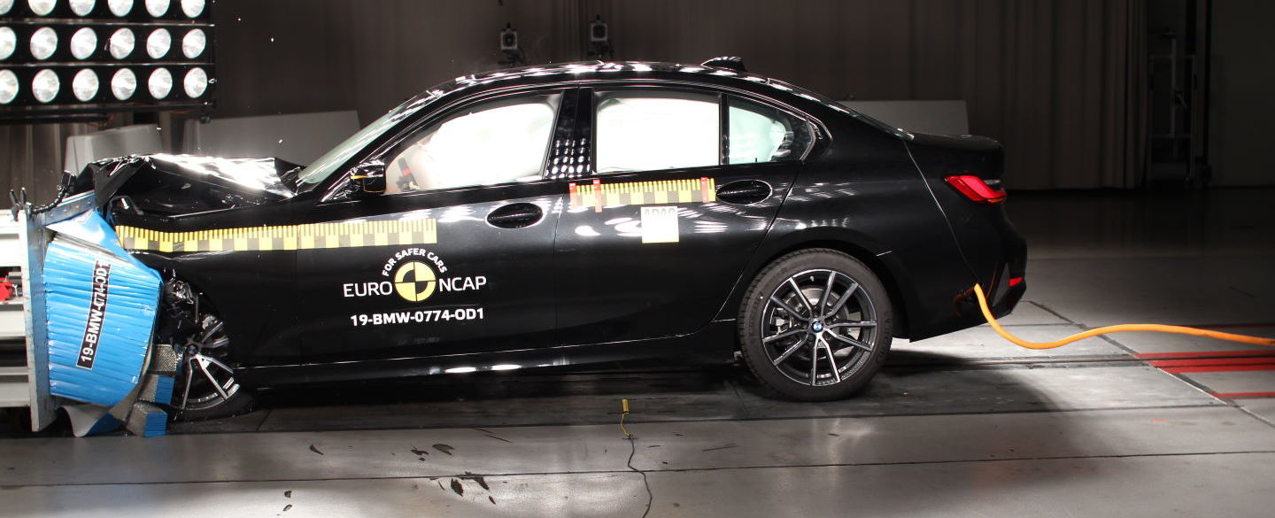 Crashtest - BMW 3er - 2019-10